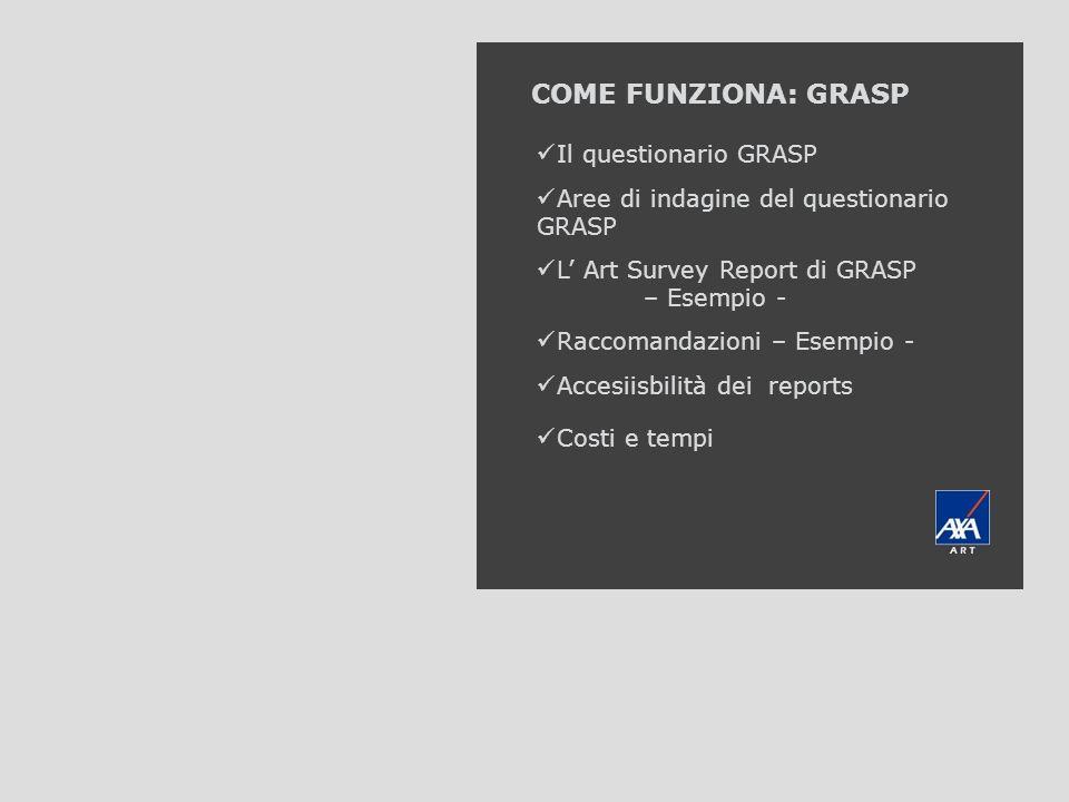 COME FUNZIONA: GRASP AXA Art GRASP Il questionario GRASP