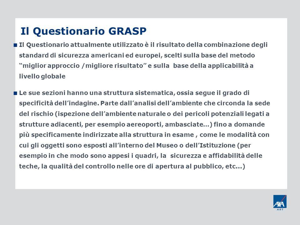 Il Questionario GRASP