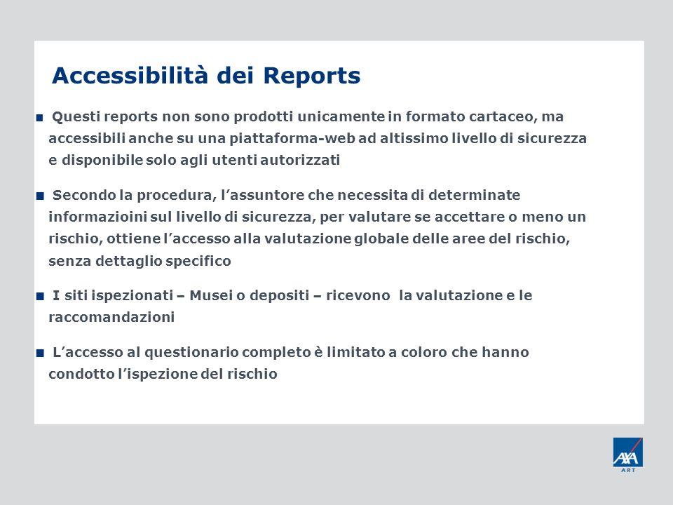 Accessibilità dei Reports