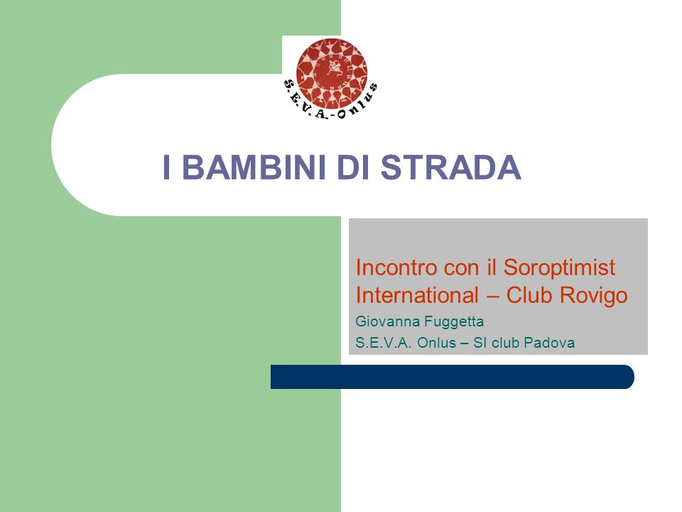 Incontro con il Soroptimist International – Club Rovigo