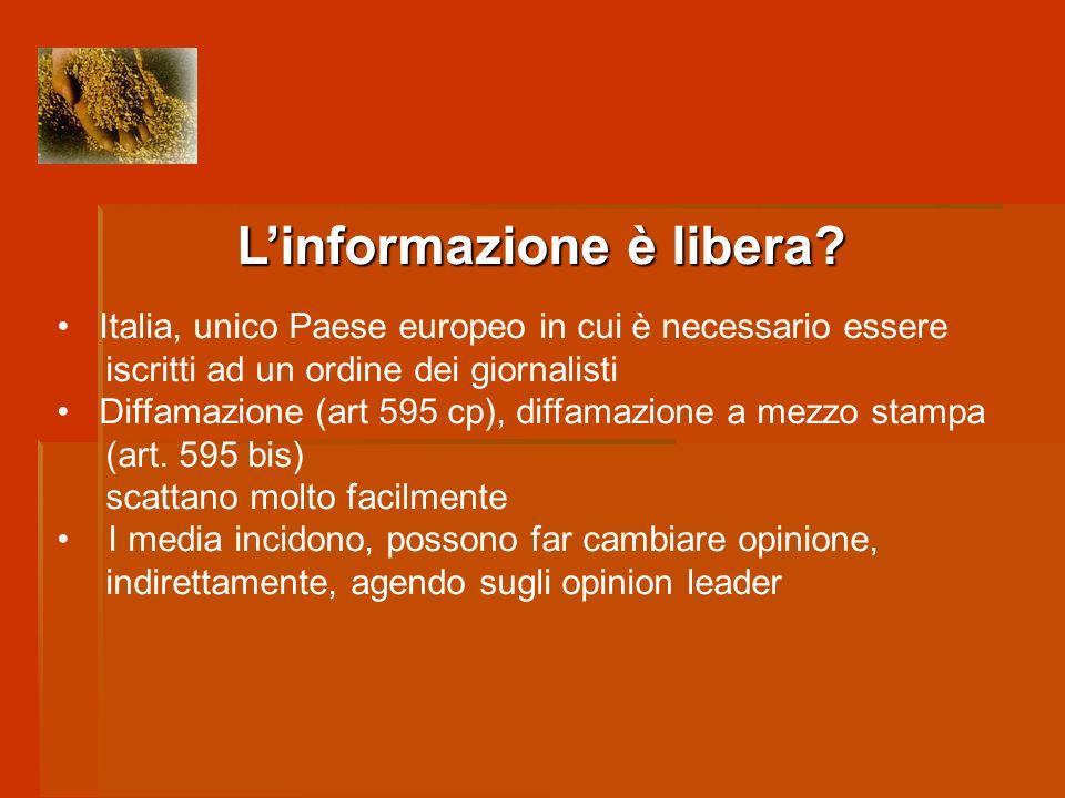 L'informazione è libera