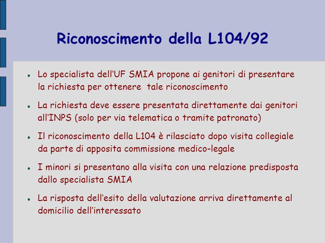 Riconoscimento della L104/92