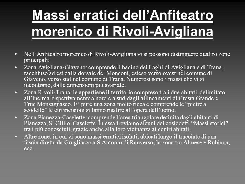 Massi erratici dell'Anfiteatro morenico di Rivoli-Avigliana
