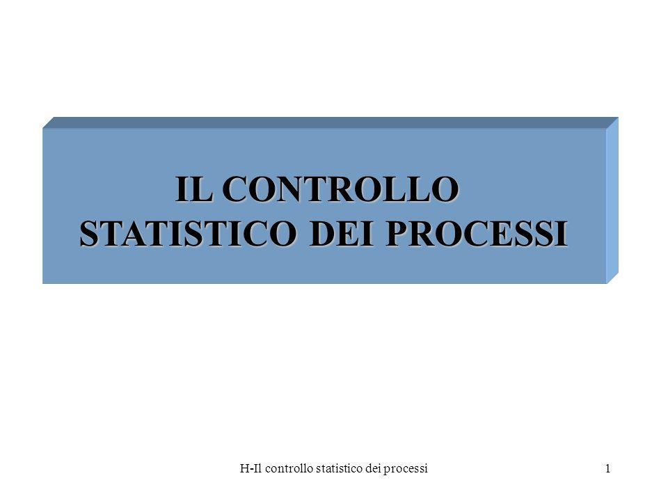 STATISTICO DEI PROCESSI