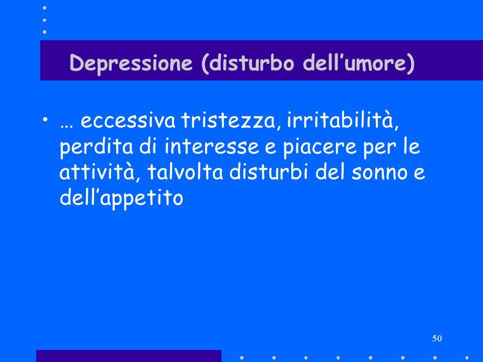 Depressione (disturbo dell'umore)