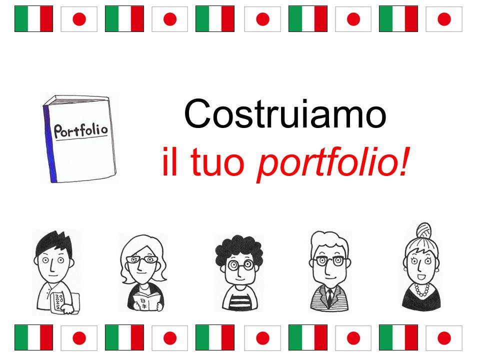 Costruiamo il tuo portfolio!