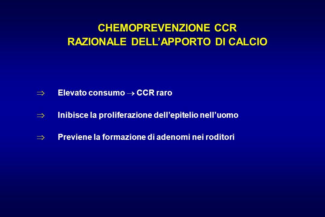 RAZIONALE DELL'APPORTO DI CALCIO