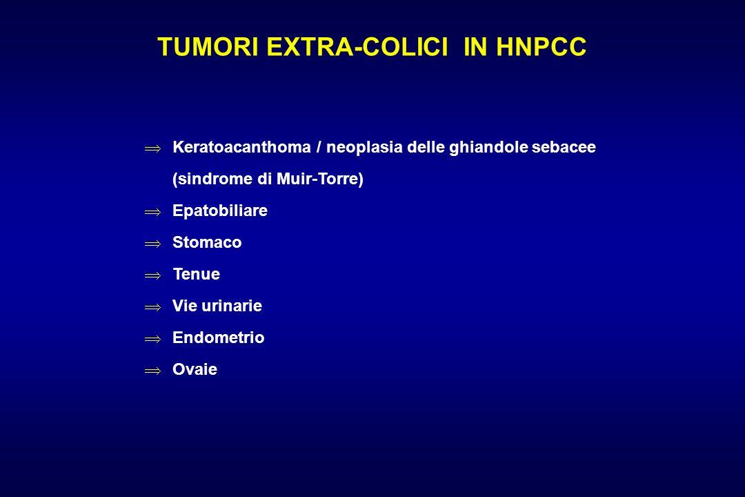 TUMORI EXTRA-COLICI IN HNPCC