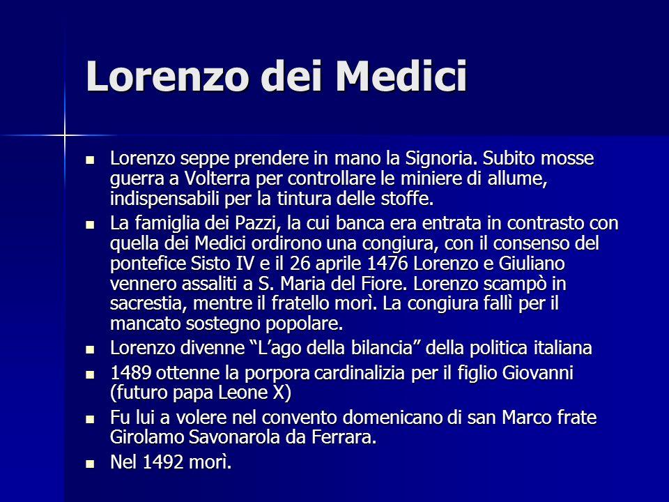 Lorenzo dei Medici