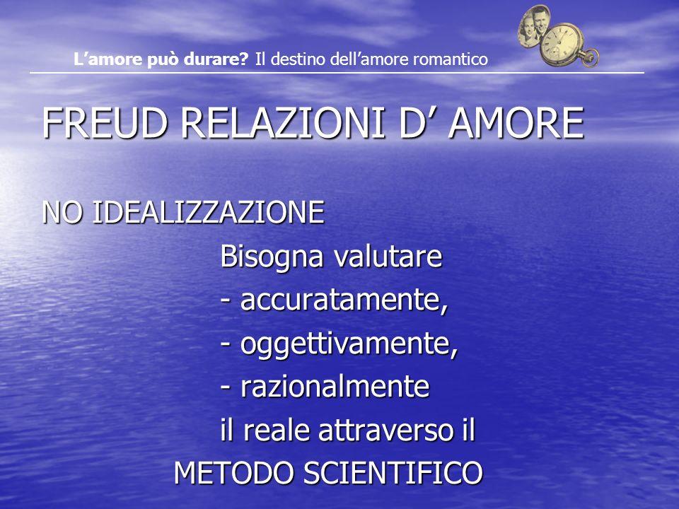 FREUD RELAZIONI D' AMORE