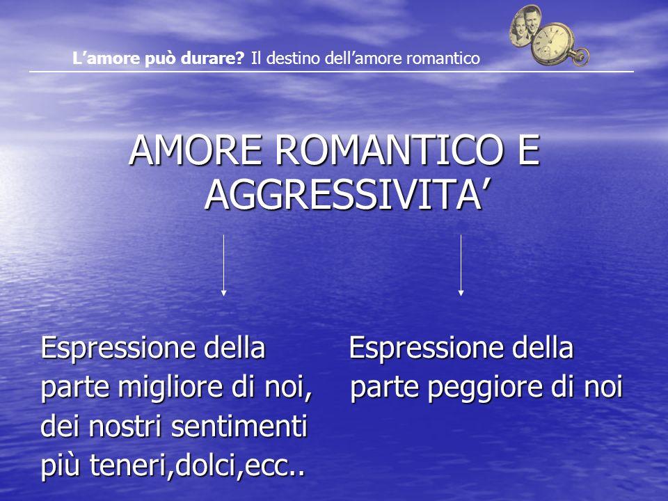 AMORE ROMANTICO E AGGRESSIVITA'