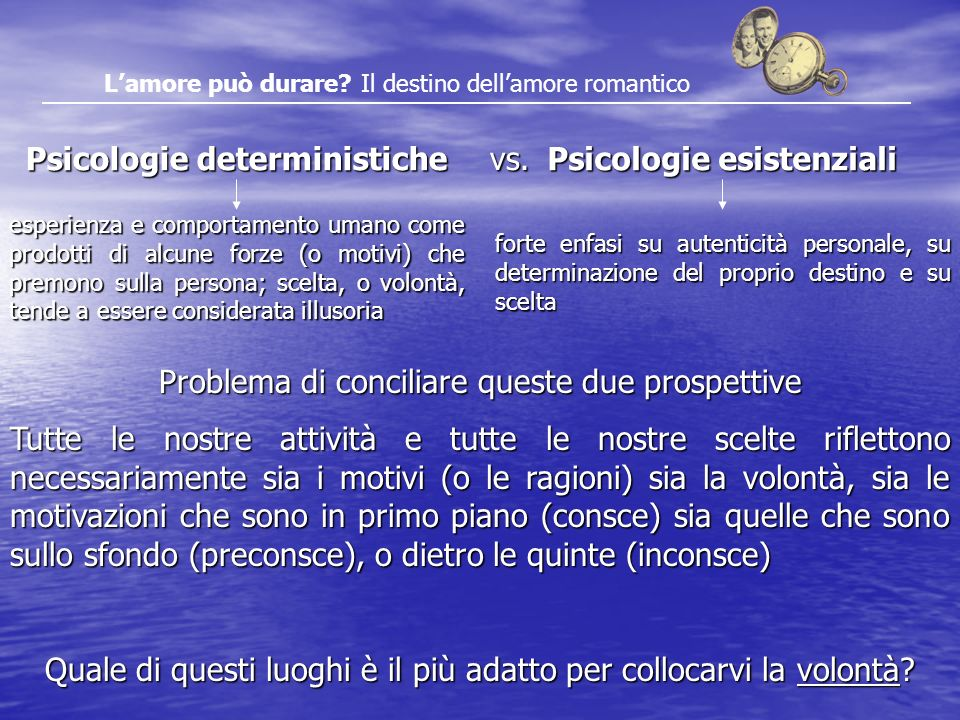 Psicologie esistenziali