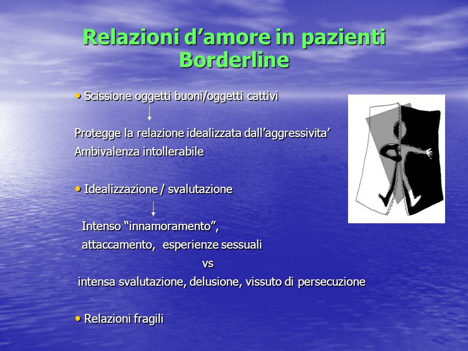 Relazioni d'amore in pazienti Borderline