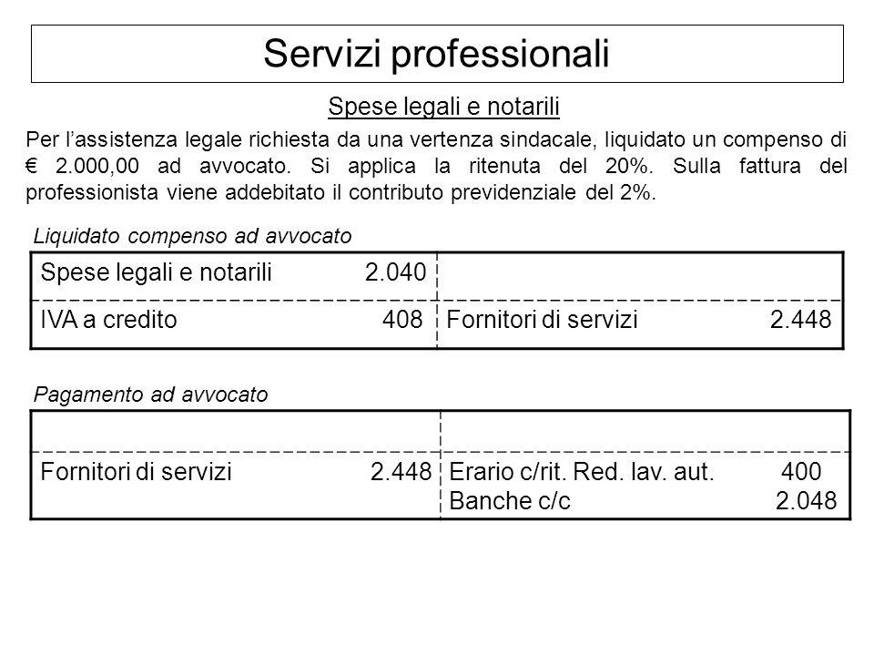 Servizi professionali