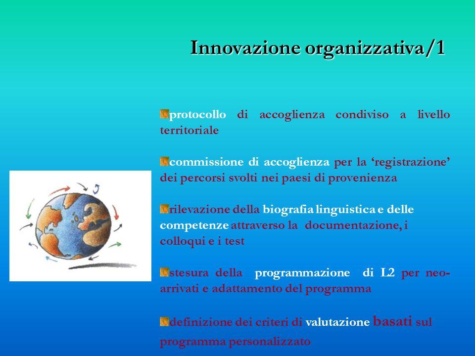 Innovazione organizzativa/1