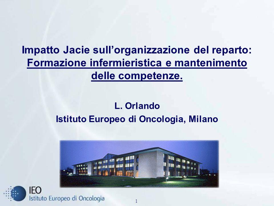L. Orlando Istituto Europeo di Oncologia, Milano