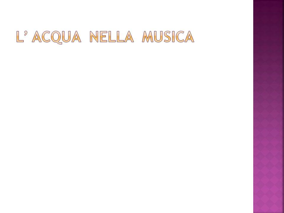 L' acqua nella musica