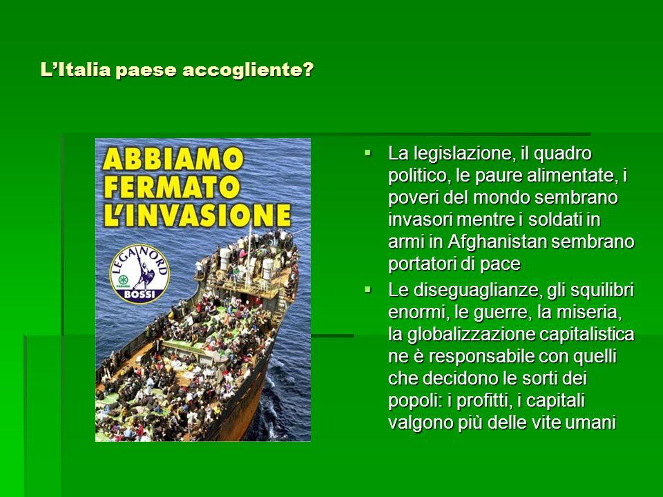 L'Italia paese accogliente
