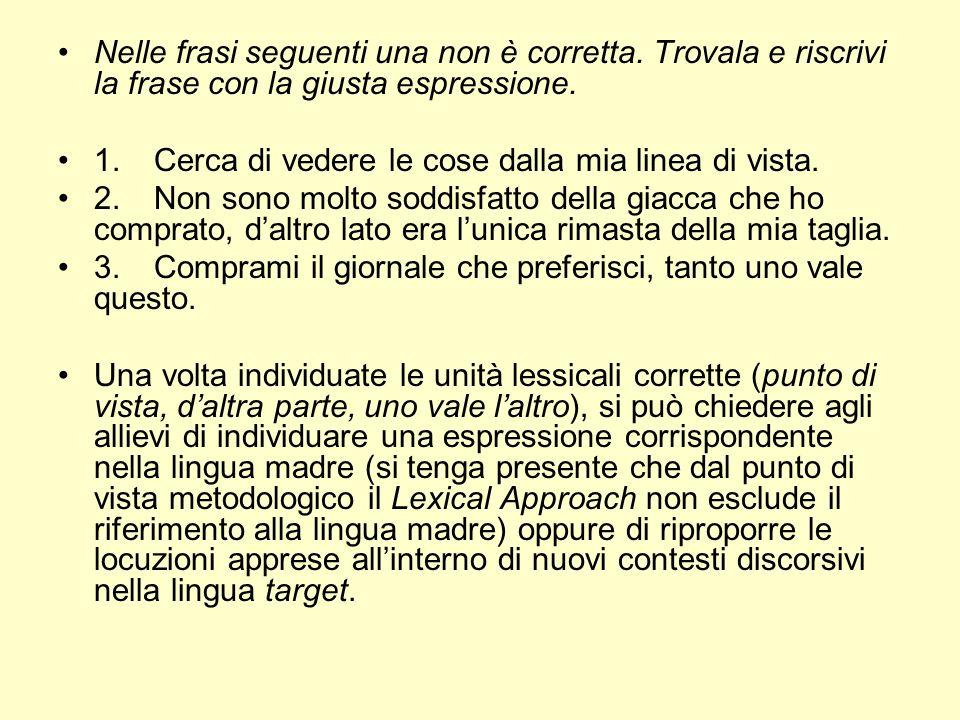 Popolare L'APPROCCIO LESSICALE - ppt scaricare MV83