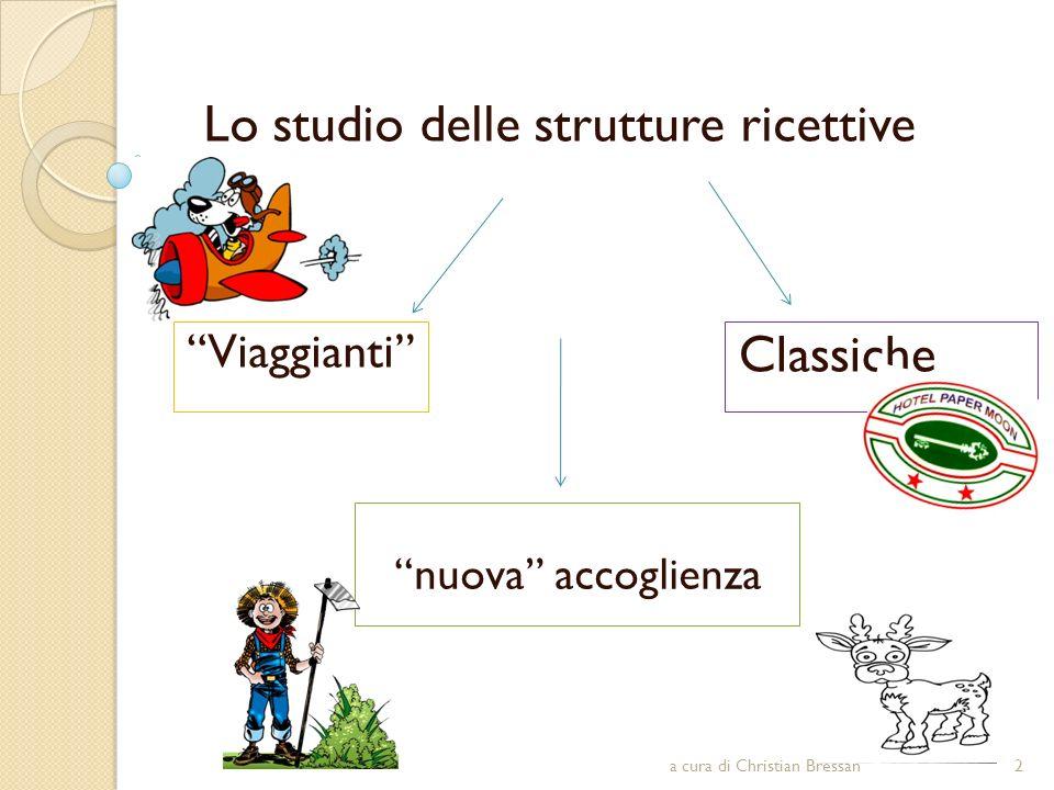 Lo studio delle strutture ricettive
