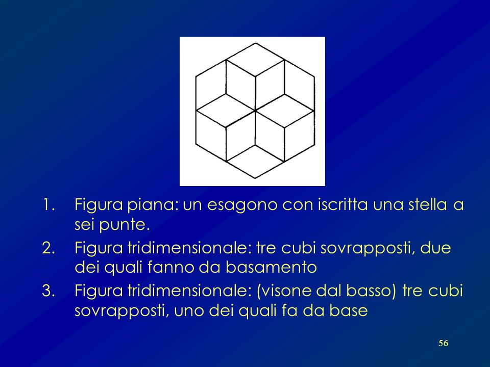 Figura piana: un esagono con iscritta una stella a sei punte.