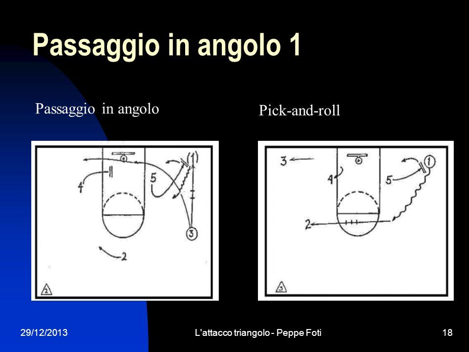 L attacco triangolo - Peppe Foti