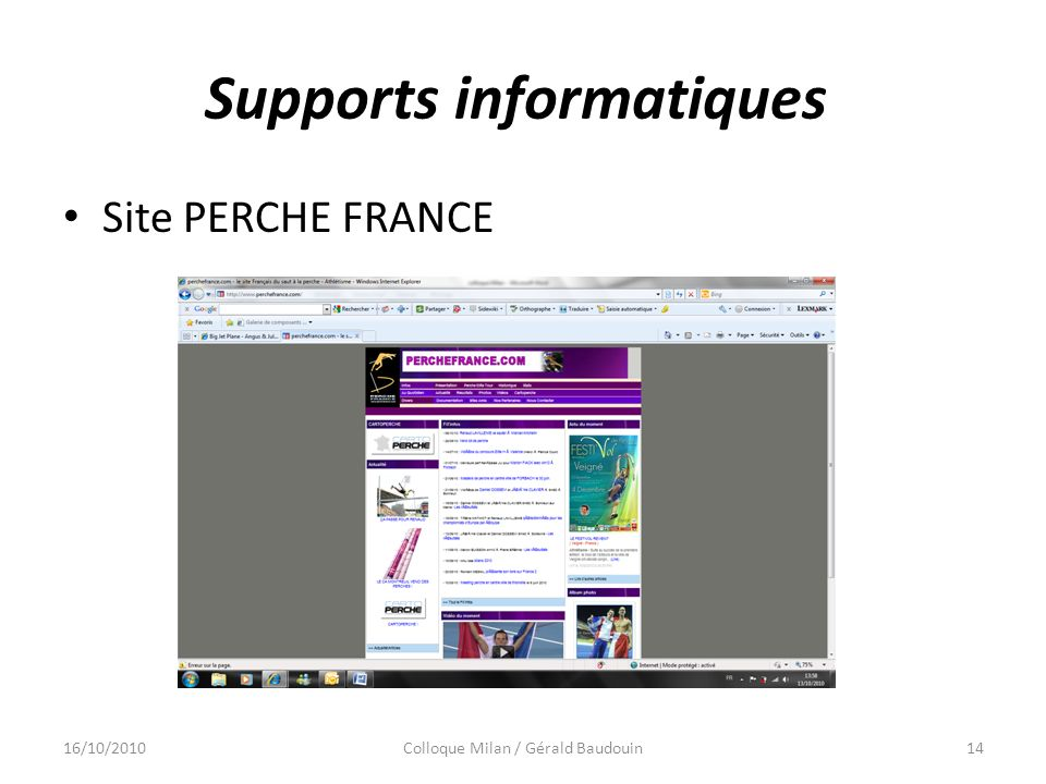 Supports informatiques