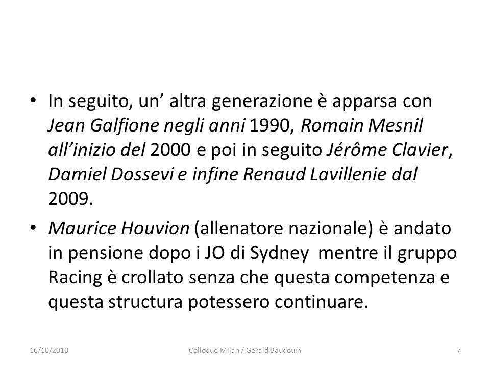 Colloque Milan / Gérald Baudouin