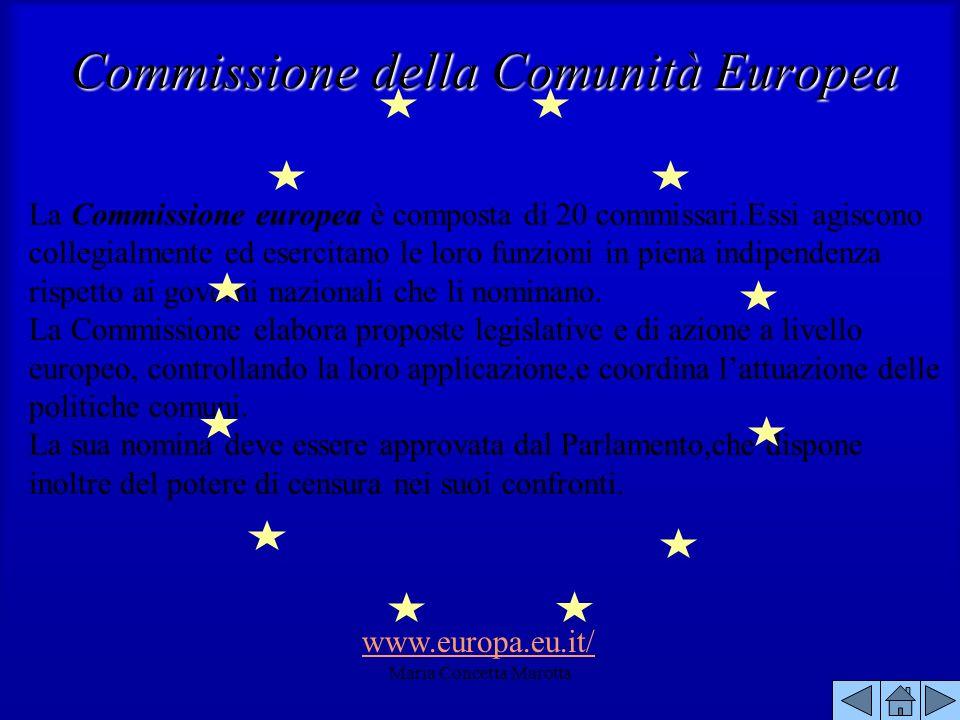 Commissione della Comunità Europea