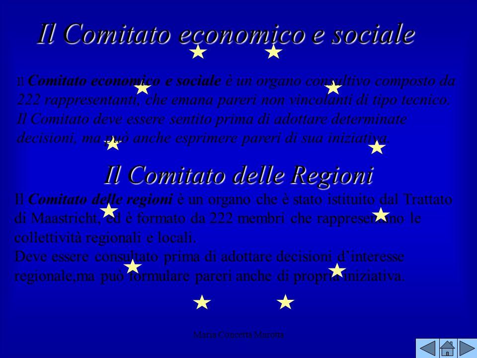 Il Comitato delle Regioni