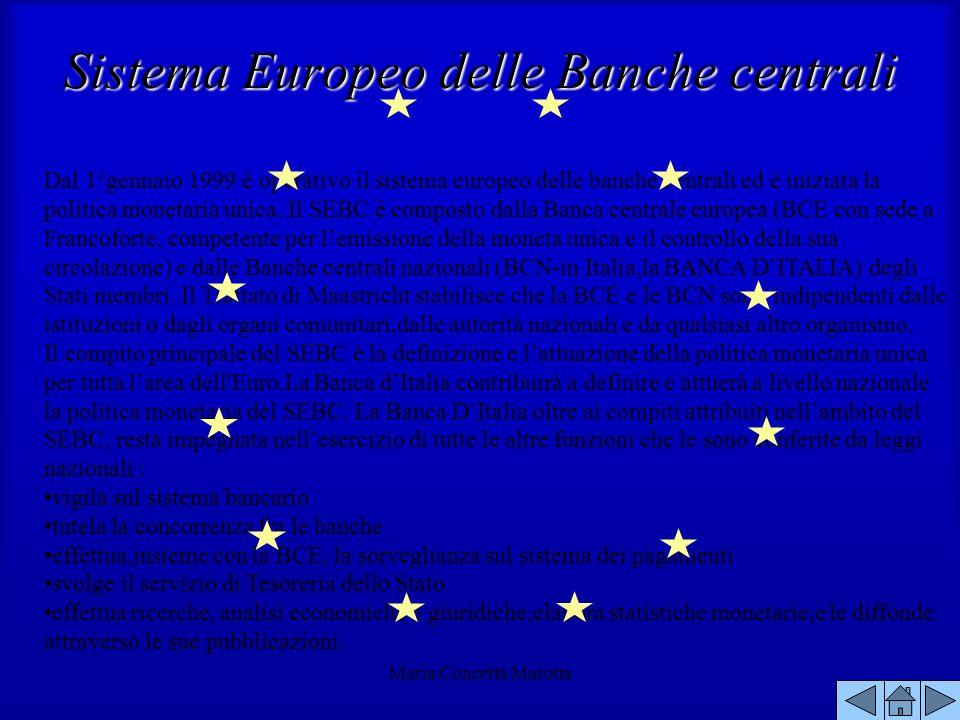 Sistema Europeo delle Banche centrali