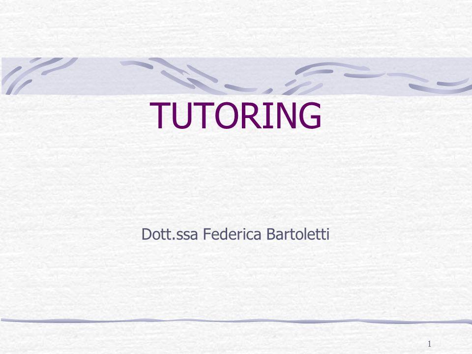 Dott.ssa Federica Bartoletti