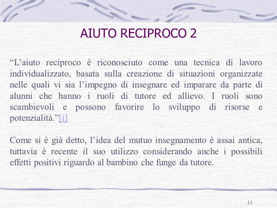 AIUTO RECIPROCO 2