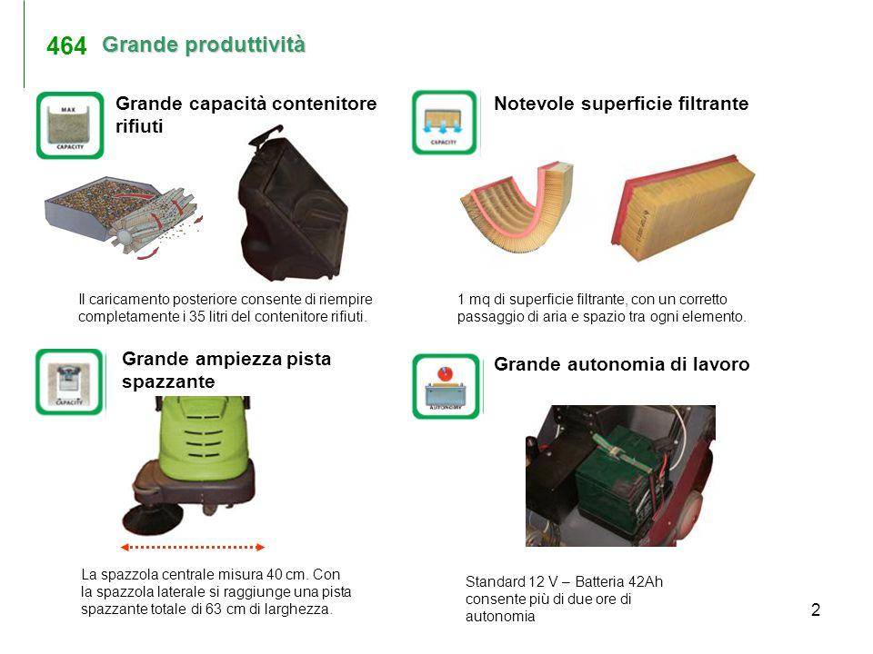 464 Grande produttività Grande capacità contenitore rifiuti
