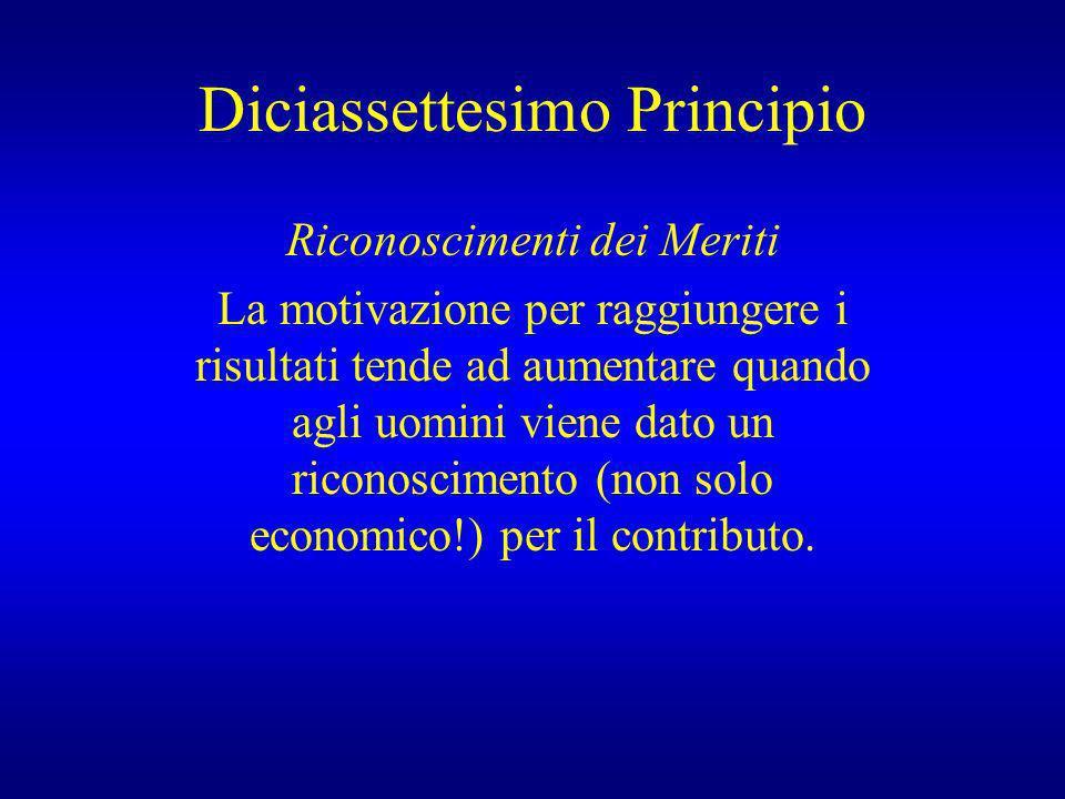 Diciassettesimo Principio
