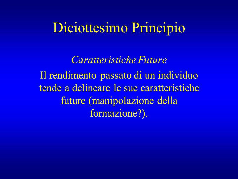Diciottesimo Principio
