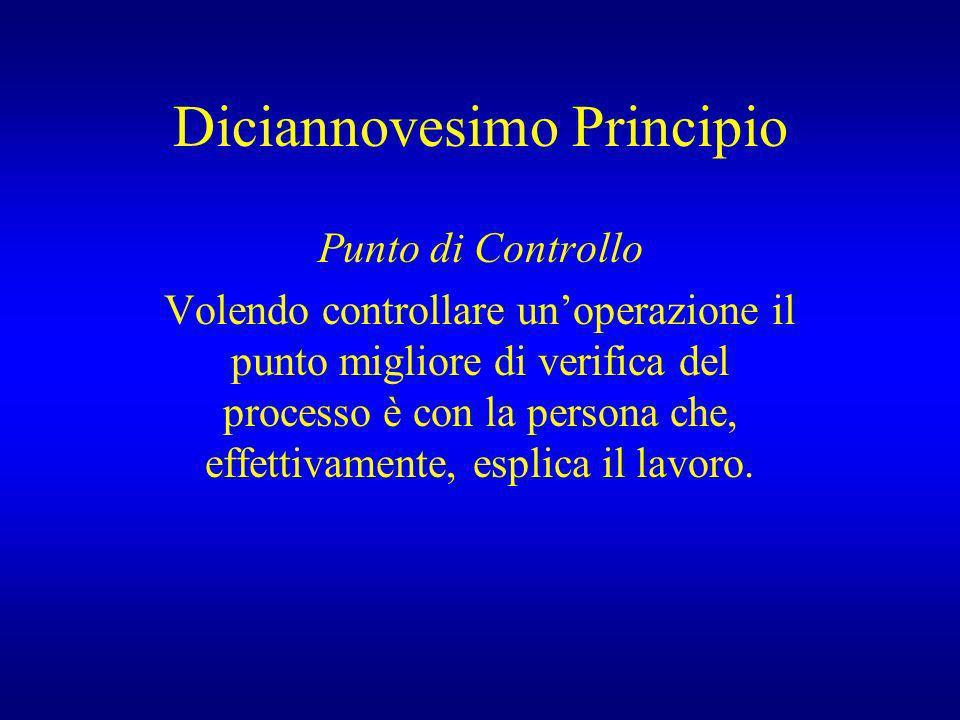 Diciannovesimo Principio