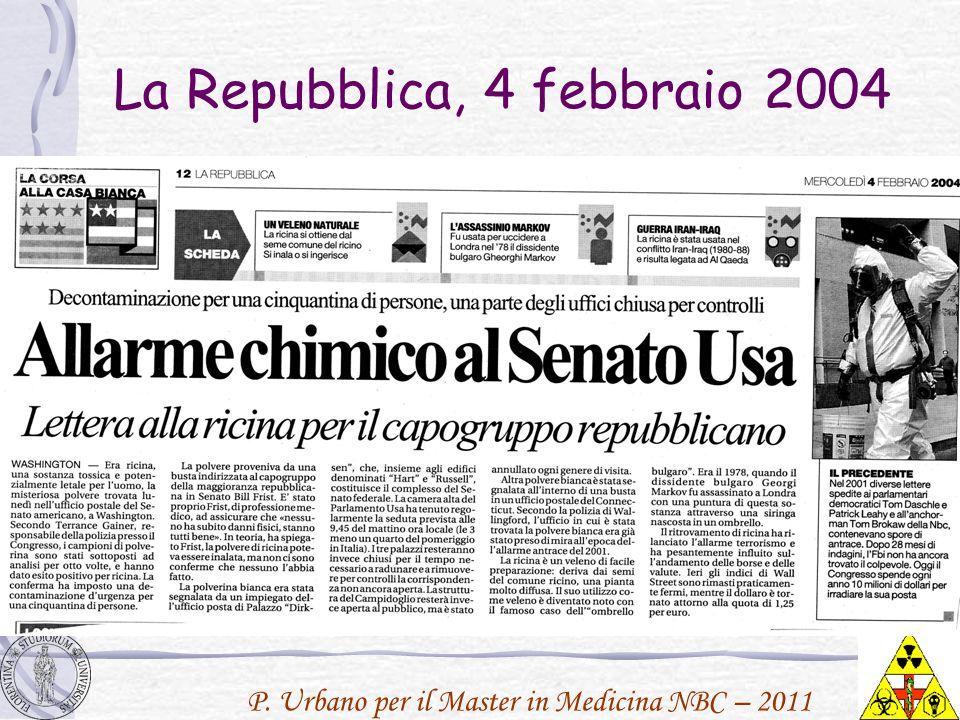 La Repubblica, 4 febbraio 2004