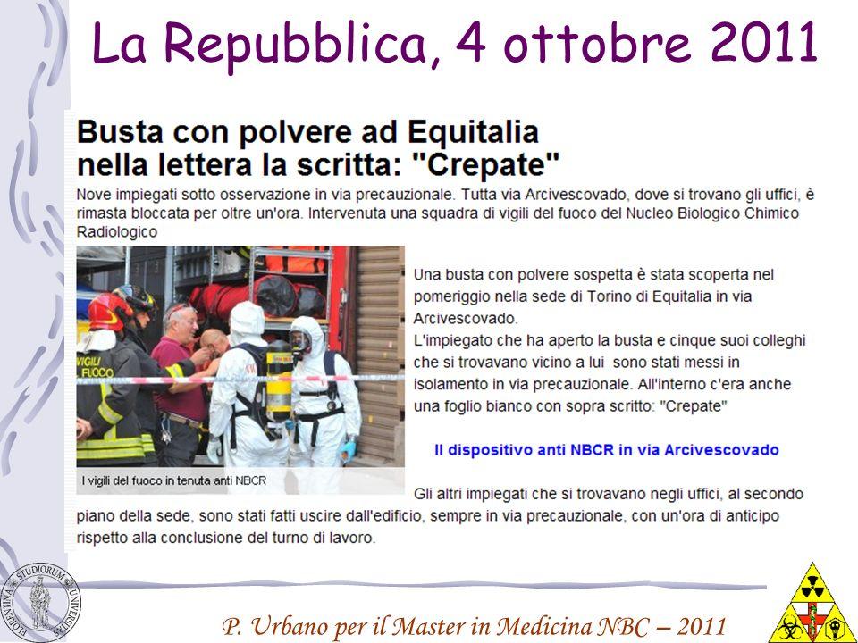 La Repubblica, 4 ottobre 2011