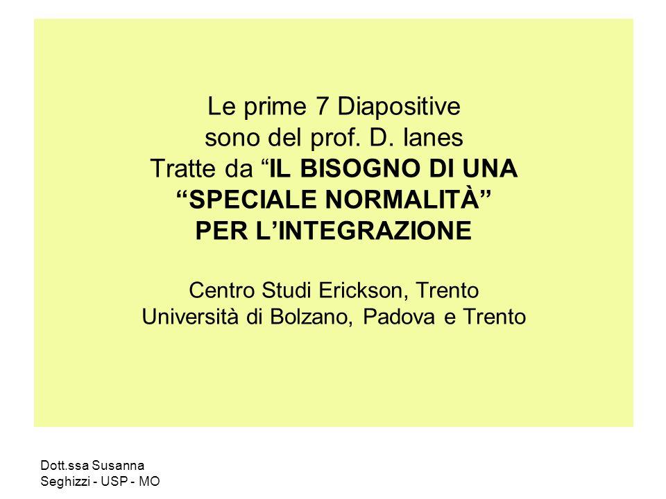Le prime 7 Diapositive sono del prof. D