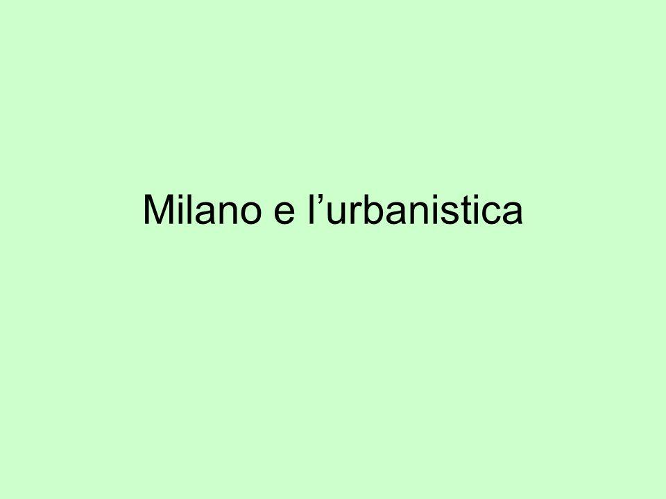 Milano e l'urbanistica
