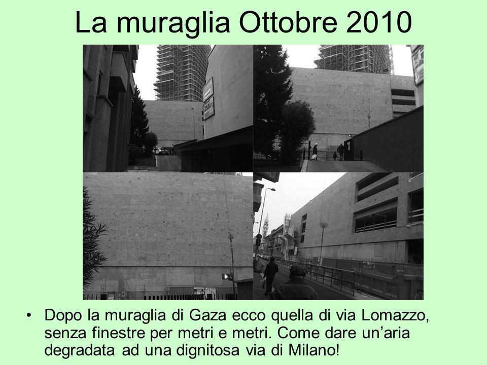 La muraglia Ottobre 2010