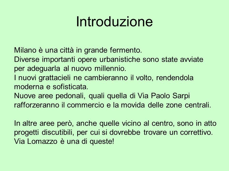 Introduzione Milano è una città in grande fermento.