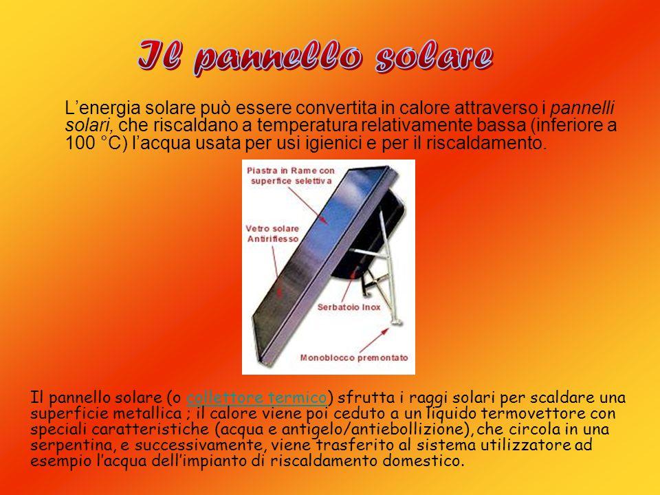 Pannello Solare Per Uso Domestico : L energia solare ppt video online scaricare