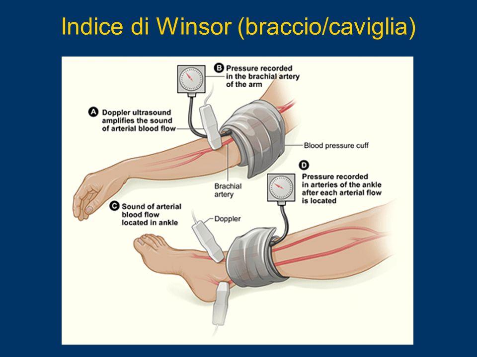 Indice di Winsor (braccio/caviglia)