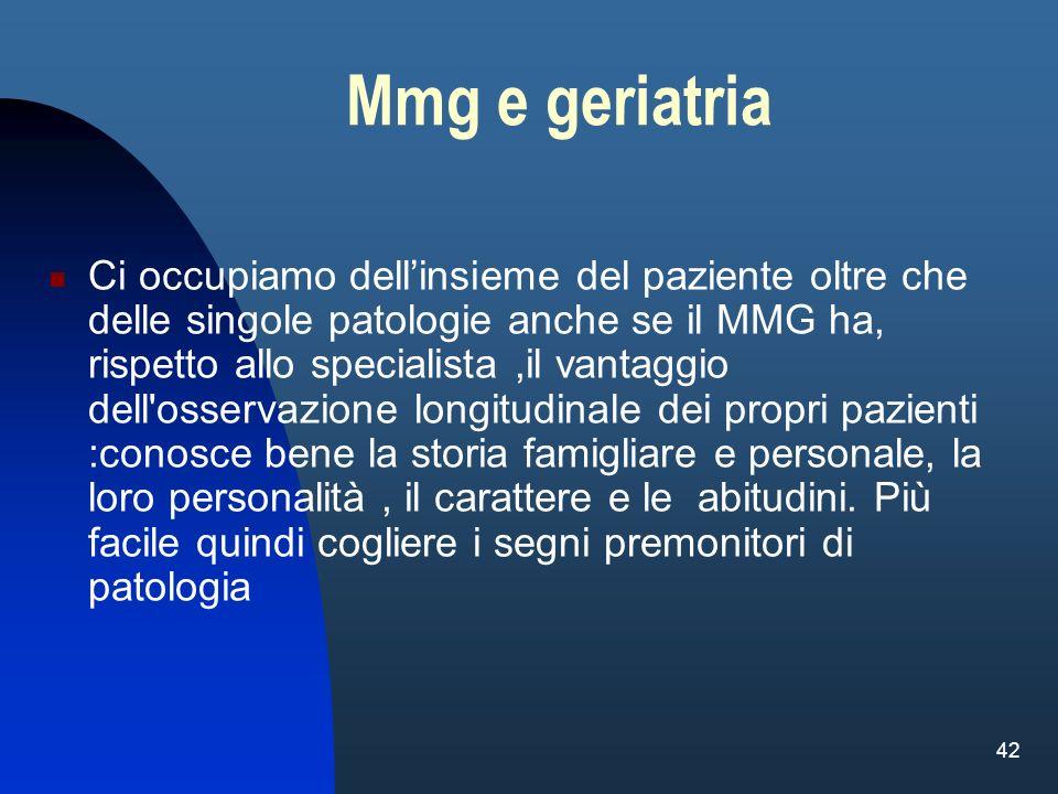 Mmg e geriatria