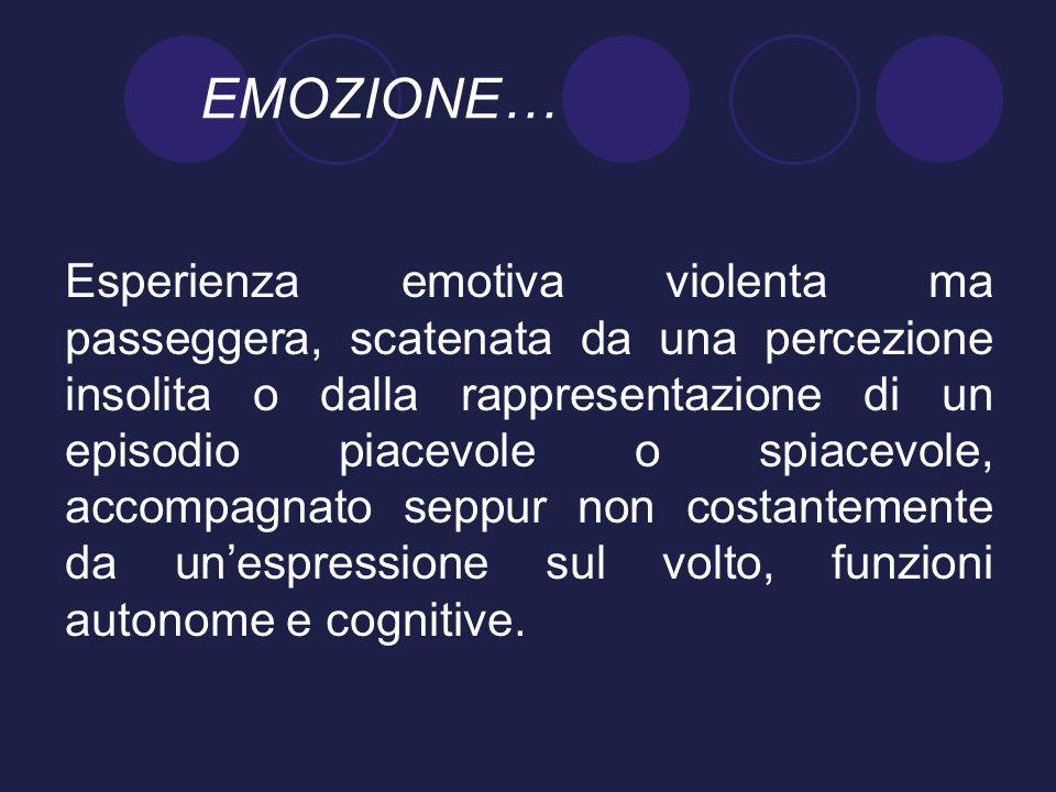 EMOZIONE…