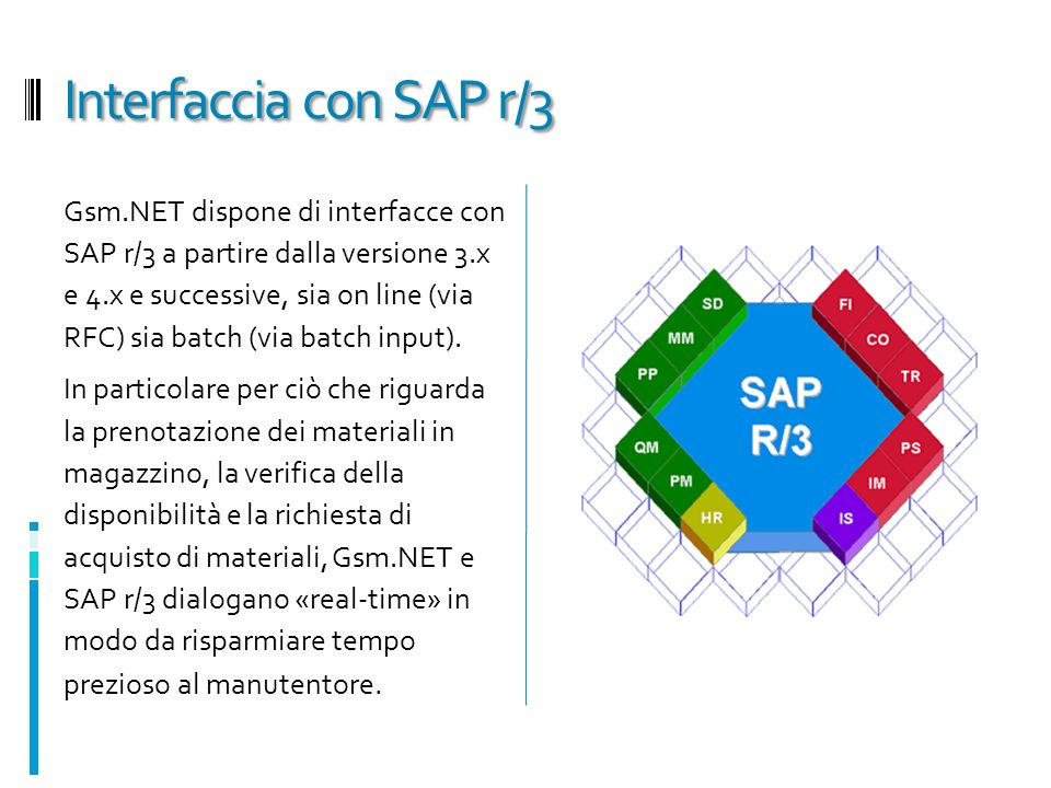 Interfaccia con SAP r/3