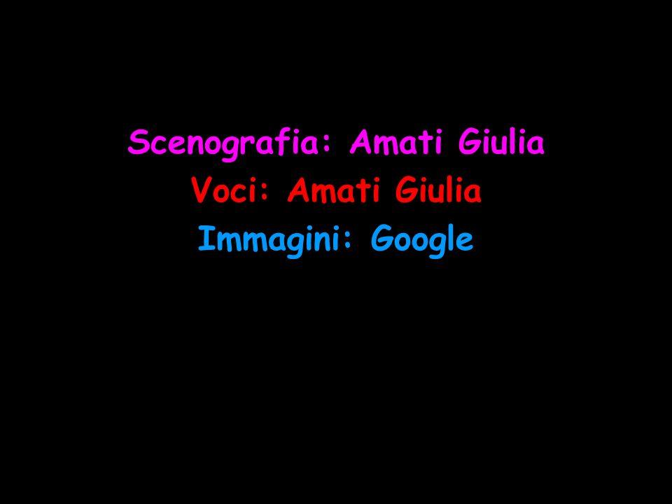 Scenografia: Amati Giulia