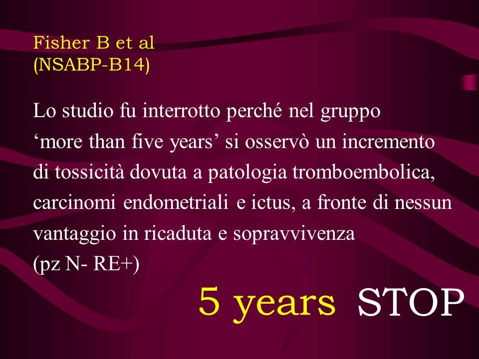 Fisher B et al (NSABP-B14) (II)